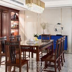 气质新中式餐厅设计