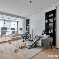 现代简约三居客厅设计