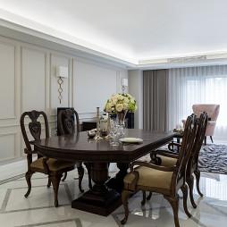 法式三居餐厅设计