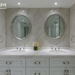 法式三居洗手间设计