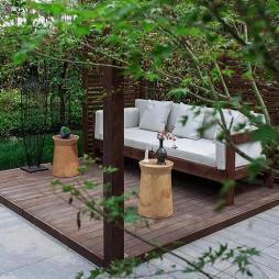 成都上熙府样板间花园设计