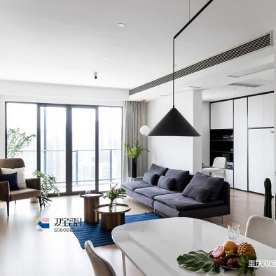 现代二居客厅设计欣赏