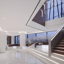 售楼处大厅楼梯设计