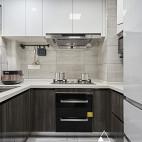 现代简约风三居厨房设计