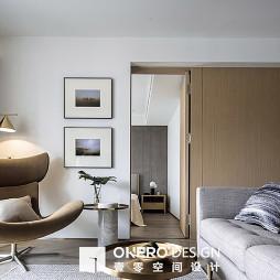 简洁现代二居客厅设计