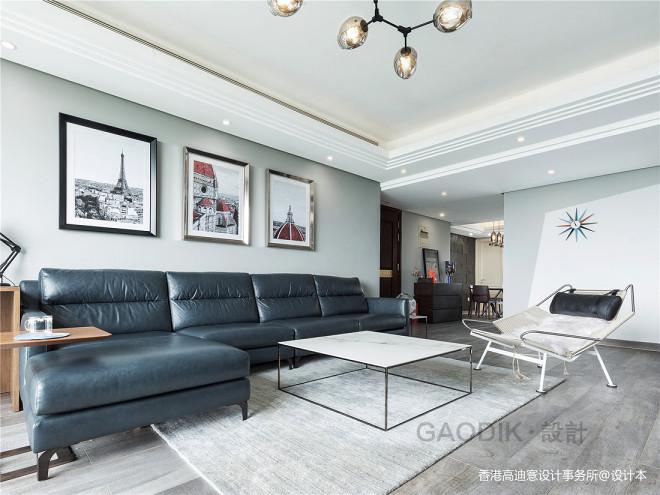 质感现代三居客厅设计