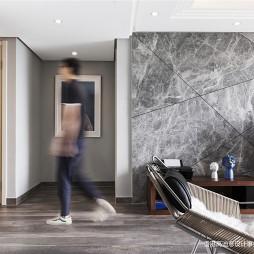 质感现代三居电视背景墙设计