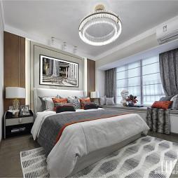 现代样板房卧室设计