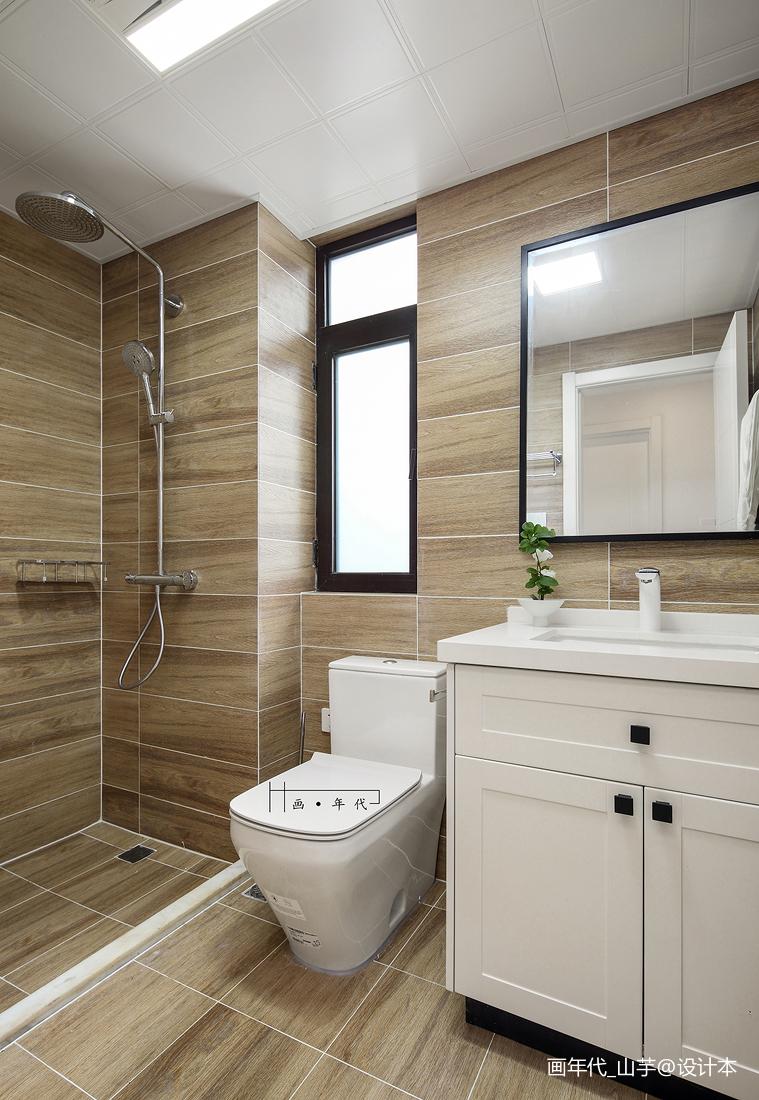 衣帽间门设计效果图_日式三居浴室设计 – 设计本装修效果图