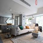 北欧三居开放式客厅设计