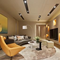 样板间电视背景墙设计效果
