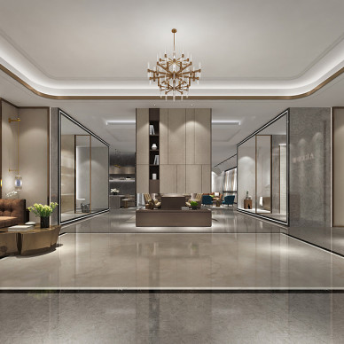 杭州箭牌瓷砖商业展厅设计_3331300
