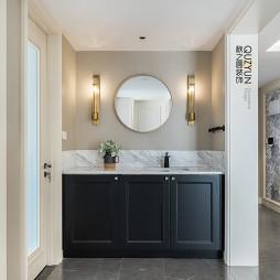 现代美式洗手间设计