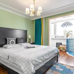 美式三居卧室装修设计