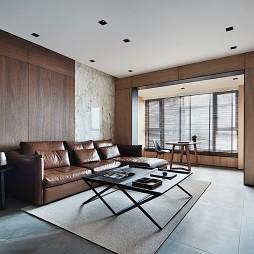 简欧三居客厅设计
