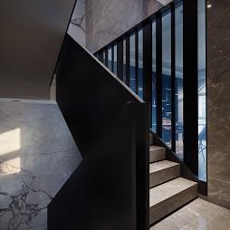 现代别墅楼梯设计