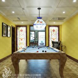 美式别墅休闲区设计欣赏