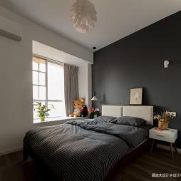 二居卧室背景墙设计