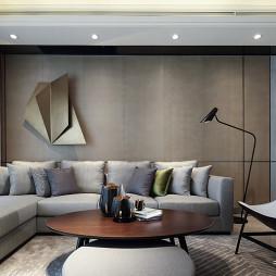 样板间客厅沙发背景墙设计