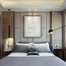 样板间卧室背景墙设计