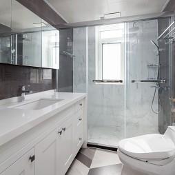 美式淋浴卫生间设计