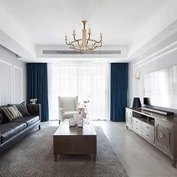 美式三居客厅设计