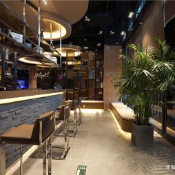 港式粥火锅餐厅前台设计