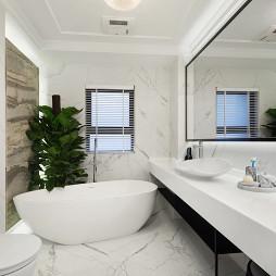北欧四居浴室装修设计