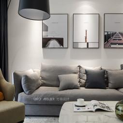 现代沙发背景墙装修设计图片