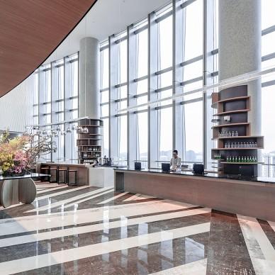 凯悦嘉轩酒店空间大堂设计图