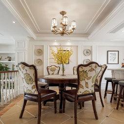 美式风别墅设计餐厅设计图