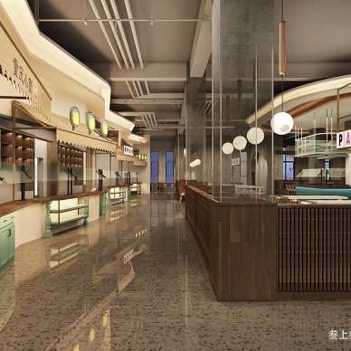 叁上叁空间设计【香港中文大学餐厅】_3348993