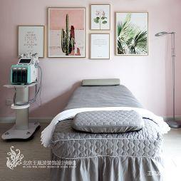 ins凤美容院皮肤管理中心美容室设计图