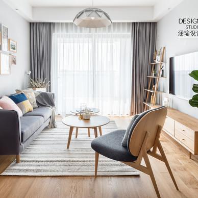 北欧风三居客厅设计图欣赏
