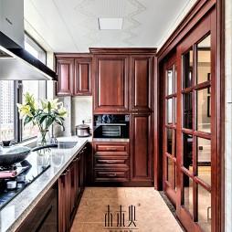 最新美式厨房实景图
