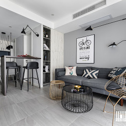 美图北欧小户型客厅装修设计图