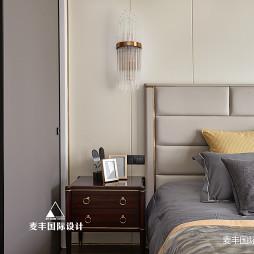 美图美式三居卧室设计图