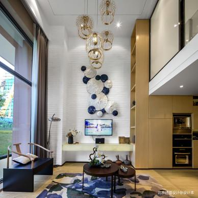 样板房现代客厅设计图