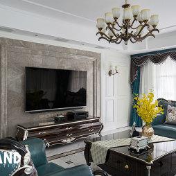美式四居客厅装修设计图