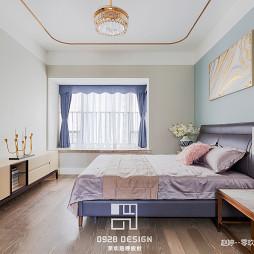 现代轻奢卧室装修设计图