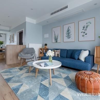 美好时光美图北欧三居客厅设计图片