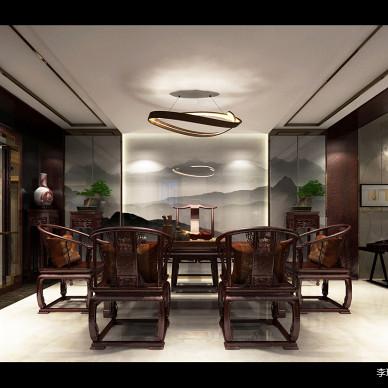 【新中式别墅设计】茶室篇_3362944