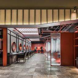 杜尚造型万象汇店休闲会所混搭风格室内概览欣赏图