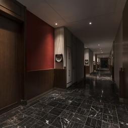 混搭酒店空间过道设计