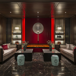 混搭酒店空间接待室设计