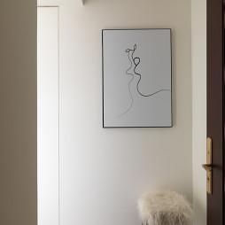 浮山静居北欧风格过道设计