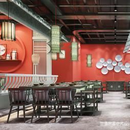 新中式餐厅设计
