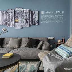 北欧风格--客厅设计