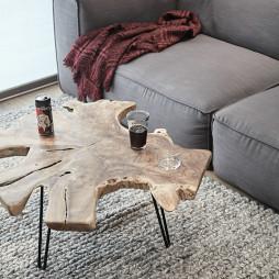 混搭二居-客厅茶几设计图
