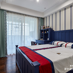 美式琥珀儿童房卧室设计
